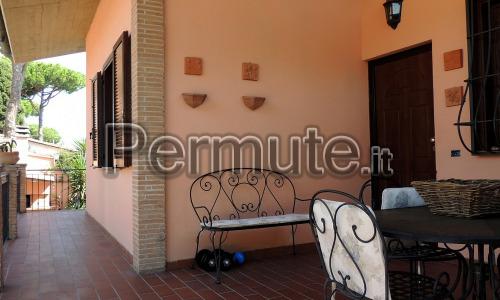 Villetta nel quartiere di Roma, Infernetto