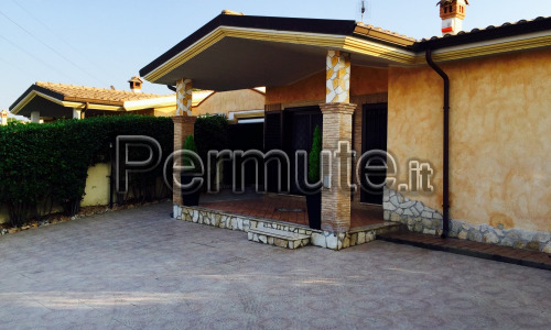 villa a roma 120 mq + 400 di esterno e piscina e ampliamento