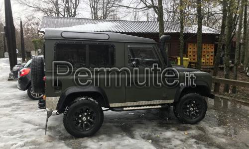 Scambio Land Rover Defender 90